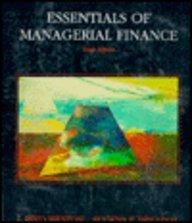 9780030754746: Essentials of Managerial Finance (Dryden Press Series in Finance)