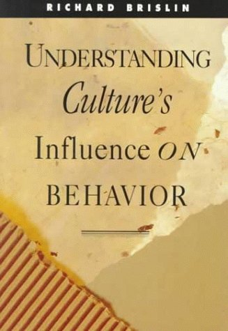 9780030758973: Understanding Cultures Influence on Behavior