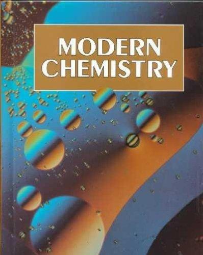 9780030759598: Modern Chemistry