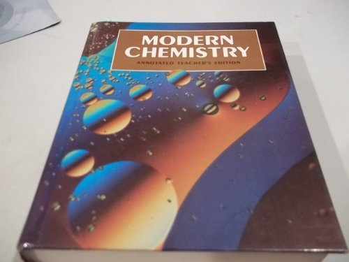 9780030759611: Modern Chemistry Annotated Teacher's Edition