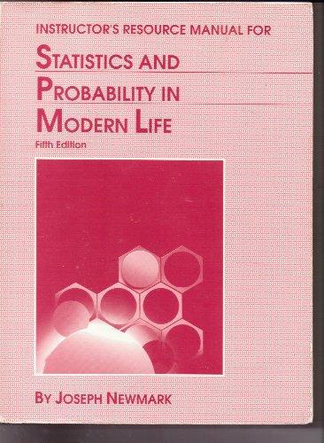 9780030762970: Stats Probability Mod Life Im/