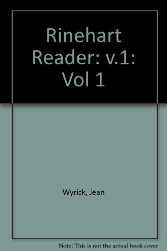 9780030766930: The Rinehart Reader (Vol 1)
