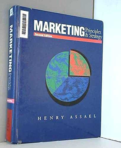 9780030767081: Marketing: Principles & Strategy