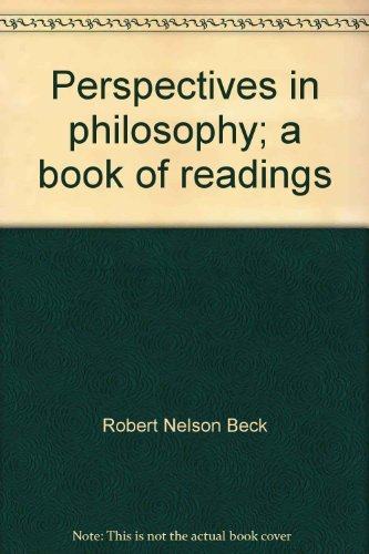 9780030767555: Perspectives in philosophy;: A book of readings