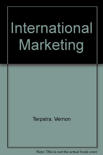 9780030767678: International Marketing