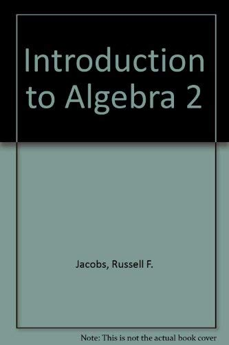 9780030769863: Holt Introductory Algebra 2