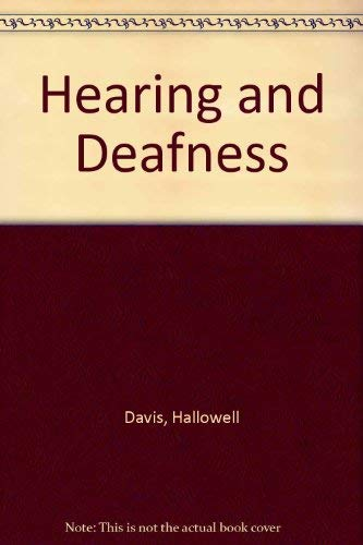 9780030771804: Hearing and Deafness