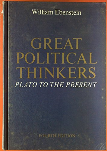9780030773259: Great Political Thinkers