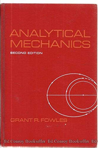 9780030774751: Analytical Mechanics