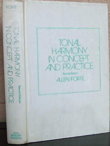 9780030774959: Tonal harmony in concept and practice - 2nd Edition