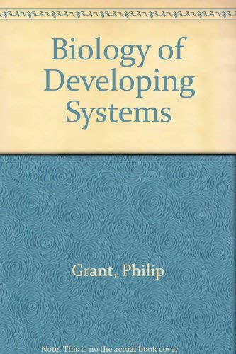 9780030775154: Biology of Developing Systems