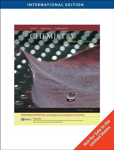 9780030777592: Chemistry & Chemical Reactivity