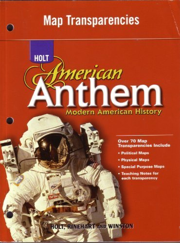 9780030778575: Map Transparencies, Holt American Anthem: Modern American History