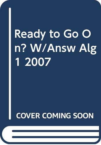 9780030779411: Algebra 1: Ready to Go on? Intervention and Enrichment, with Answer Key