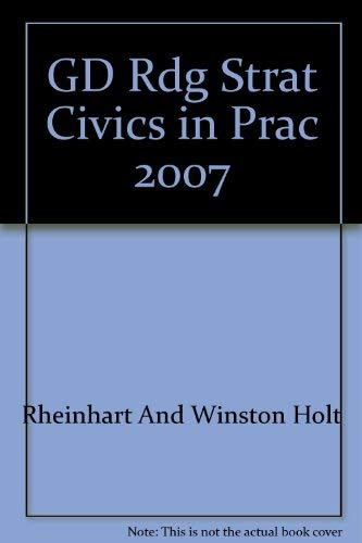 9780030779886: Guided Reading Strategies (Civics in Practice Principles of Government and Economics)