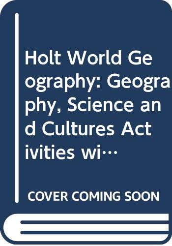 9780030780233: Holt Social Studies - Geography, Science, and Cultures - Activities with Answer Key