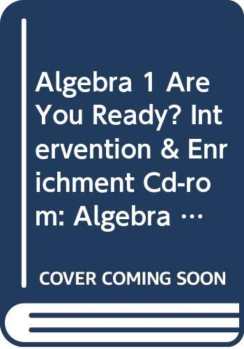9780030780776: Holt Math Algebra 1 / Geometry / Algebra 2, Are You Ready? Intervention and Enrichment