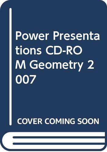 9780030781087: Power Presentations CD-ROM Geometry 2007
