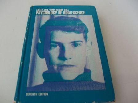 9780030781254: Psychology of Adolescence