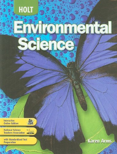 9780030781360: Holt Environmental Science: Student Edition 2008