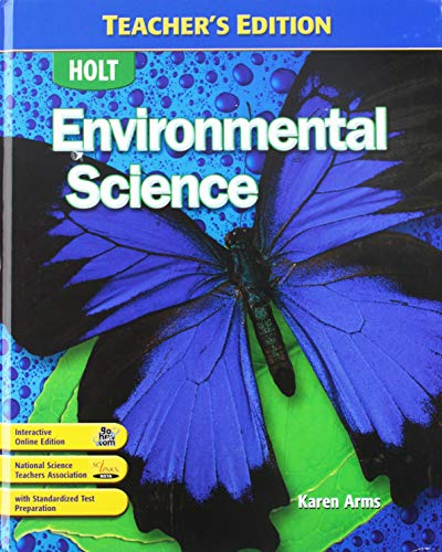 9780030781377: Environmental Science, Teacher's Edition