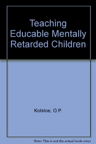 9780030782152: Teaching Educable Mentally Retarded Children