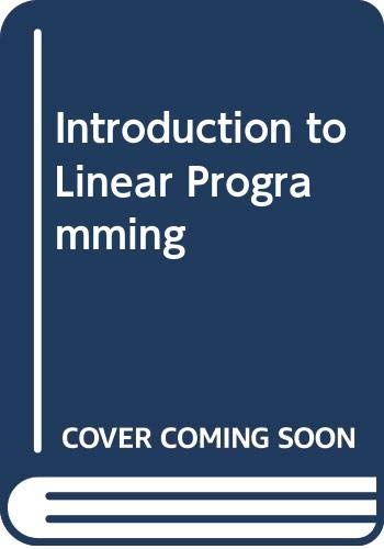 9780030782305: Introduction to linear programming