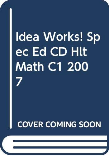 9780030782442: Idea Works! (Special Ed CD-ROM) for Holt Mathematics, Course 1