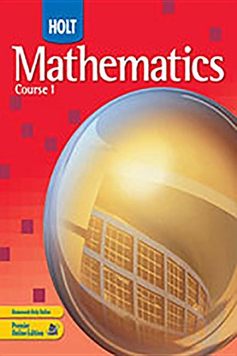 9780030782664: Mathematics, Course 1: Ready to Go On? Intervention and Enrichment