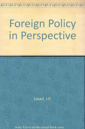 9780030783159: Foreign Policy in Perspective