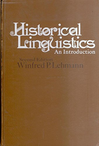 9780030783753: Historical linguistics: An introduction