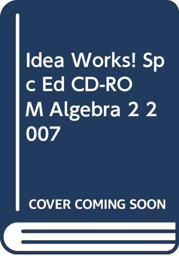 9780030784224: Holt Algebra 2 Idea Works Special Education Cd-rom