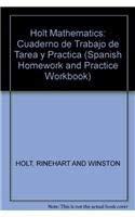 9780030784811: Holt Mathematics Course 3: Libro de trabajo: tarea y práctica