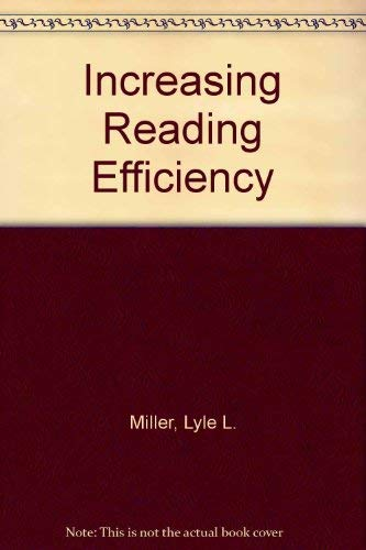 9780030784859: Increasing Reading Efficiency