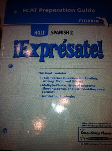 9780030785740: Fcat Prep Gde Expresate LV 2 2007 (Spanish Edition)