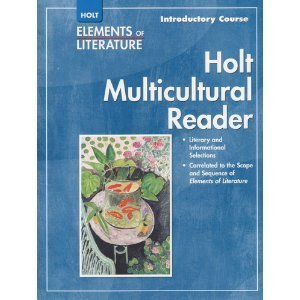 9780030785917: Holt Elements of Literature: Multicultural Reader, Introductory Course