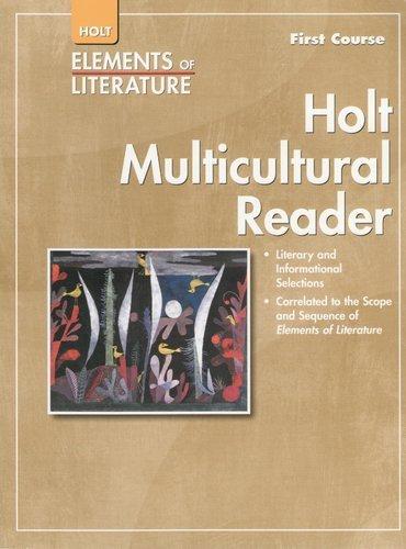 9780030785924: Holt Elements of Literature, Holt Multicultural Reader, First Course Grade 7
