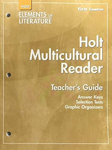 9780030785986: Holt Elements of Literature Multicultural Reader Teacher's Guide, First Course Grade 7