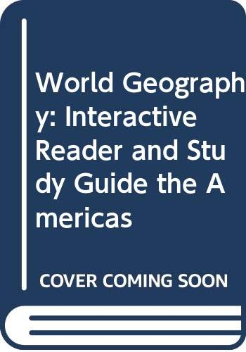 9780030786549: World Geography: Interactive Reader and Study Guide The Americas