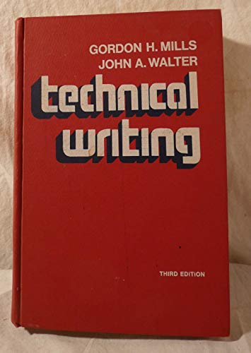 9780030786808: Technical Writing