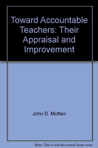 9780030786853: Toward accountable teachers;: Their appraisal and improvement