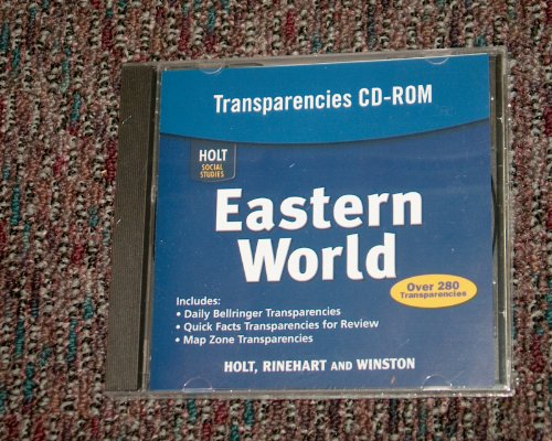 9780030786921: Eastern World, Transparencies CD-ROM (Holt Social Studies)
