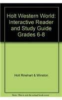 Holt Western World : Interactive Reader and: Holt Rinehart &