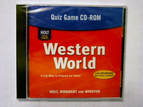 9780030787171: Holt Social Studies: Western World: Quiz Game CD-ROM