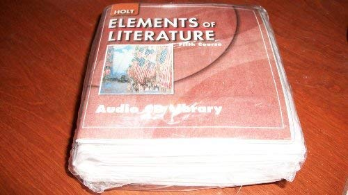 9780030789670: Elements of Literature: Audio CD Library Introductory Course