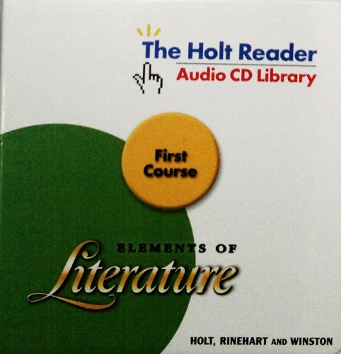 9780030789687: Elements of Literature: Audio CD Library First Course