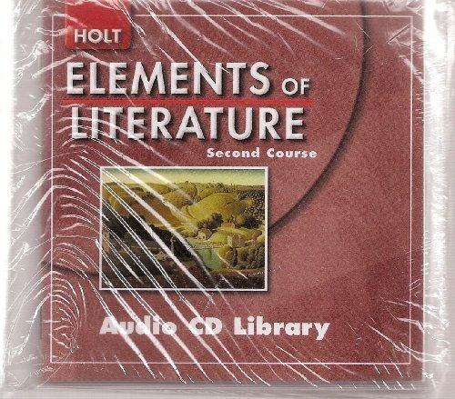 9780030789694: Elements of Literature: Audio CD Library Second Course