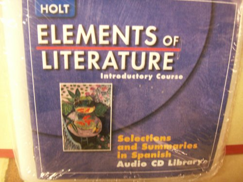Spn Audio CD Lib Eolit 2007 G 6: Winston, Holt Rinehart &
