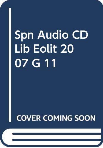 9780030789823: Spn Audio CD Lib Eolit 2007 G 11