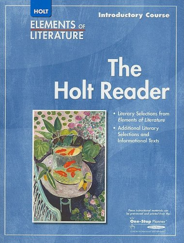 9780030790188: Elements of Literature: Introductory Course - The Holt Reader